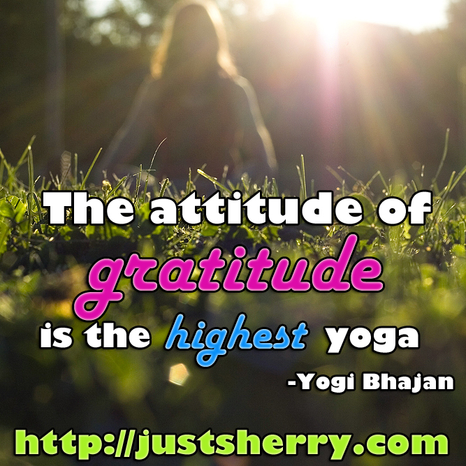 Kick negativity to the curb with gratitude
